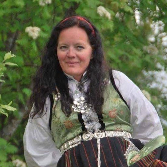 Bente Mari Nymoen ledet 17. mai-komiteen ved Brandbu barneskole i år.