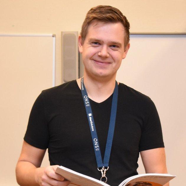 Øyvind Grassdal, 5.stortingskandidat for Rogaland SV