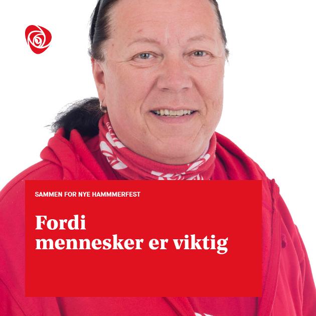 Tom-Kristian Tommen Hermo. Listekandidat for Hammerfest AP