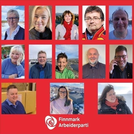 Finnmark Aps landsmøte delegasjon