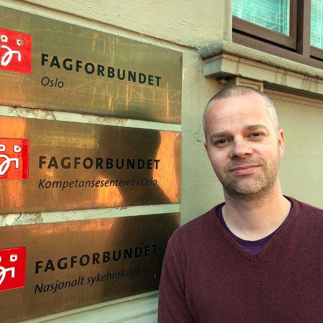 Opptatt av åpenhet: Aps Steinar Ottesen.