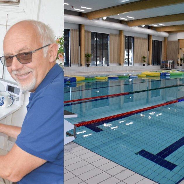 Asbjørn Jørstad fra Lierfoss mener de badende ved Bjørkebadet på Bjørkelangen må ta ansvar.