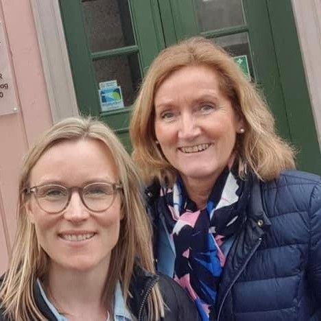Line Spiten og Ingeborg Sivertsen