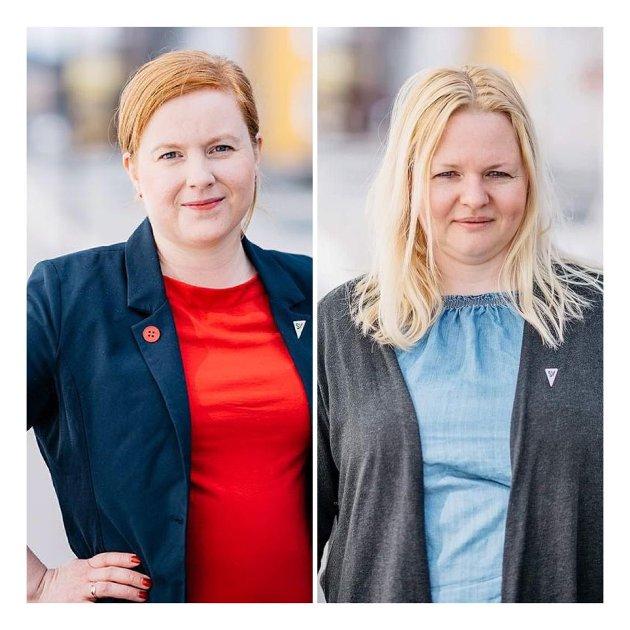 Åshild Pettersen og Haldis Andersen