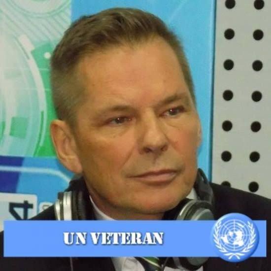Dan-Viggo Bergtun er President i World Veterans Federation, som knytter over 60 millioner veteraner fra 142 land i arbeid for fred og velbefinnende for veteraner som har vært involvert i kriger og konflikter.
