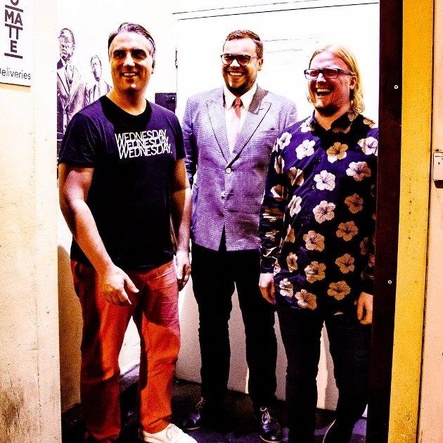 Anders Thorén, Tim Thornton og Kjetil Jerve - Circumstances Trio - en usedvanlig empatisk kohort.