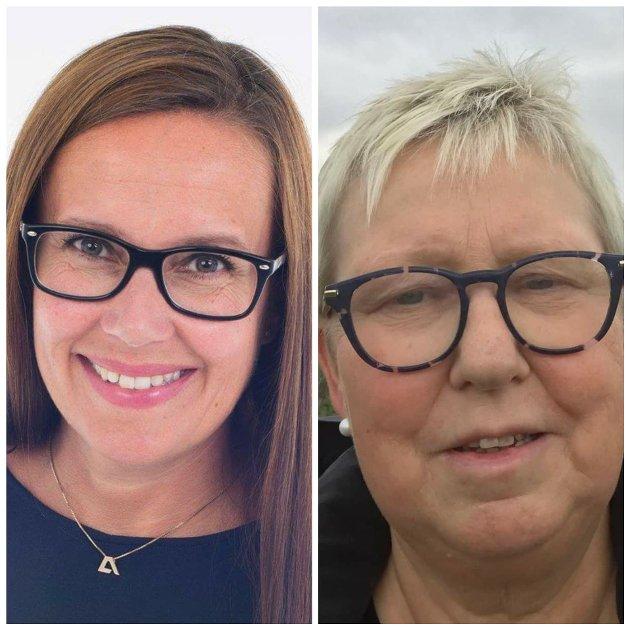 Rådsledere i Finnmark: Marianne S. Næss og Wenche Pedersen