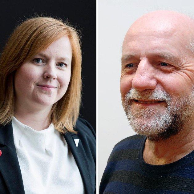 Åshild Pettersen og Heming Olaussen