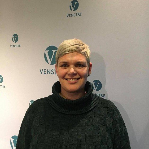 Catrine Fladsrud Vold (V) vil ha slutt på at byrådet kutter i midler til bydelene for å rekommunalisere private sykehjem.