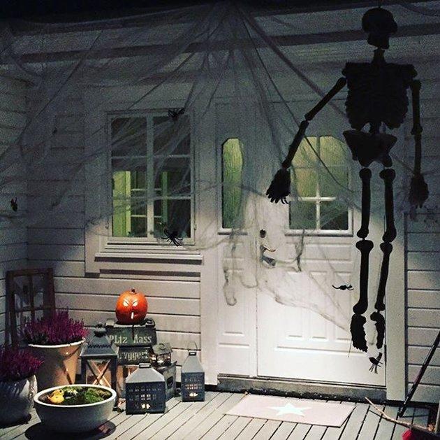 Halloween feires i mange land 31. oktober.