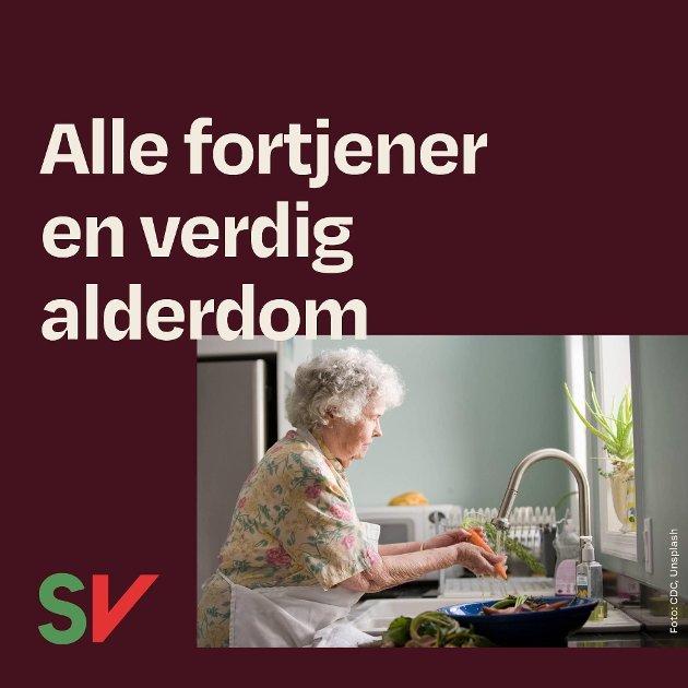Rettferdig pensjon gir en verdig alderdom