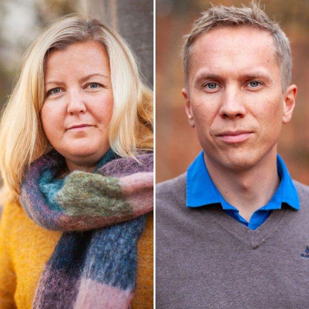 Kari-Lise Rørvik og Håvard Wannebo, Larvik Venstre