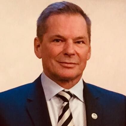 Dan-Viggo Bergtun fra Lillestrøm, President i verdens største veteranorganisasjon.