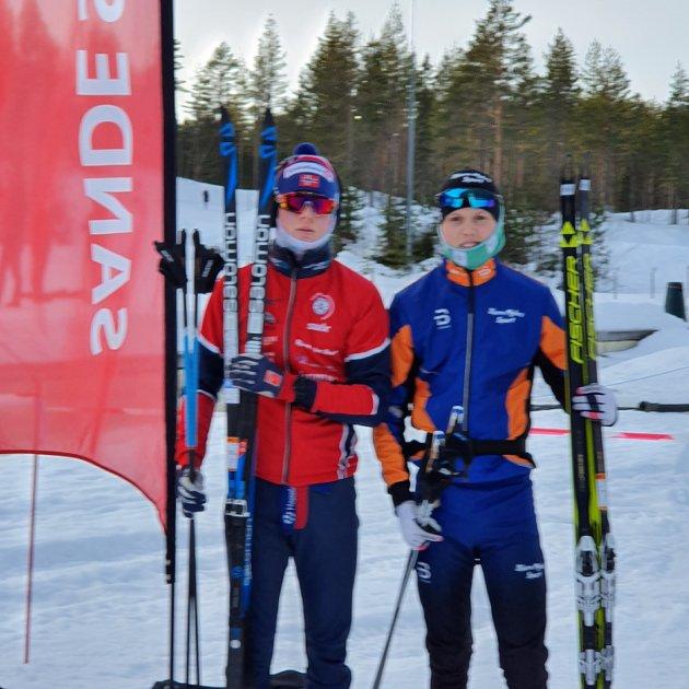 Andreas Sørsdal og Ole Conrad, juniorene i SSK.