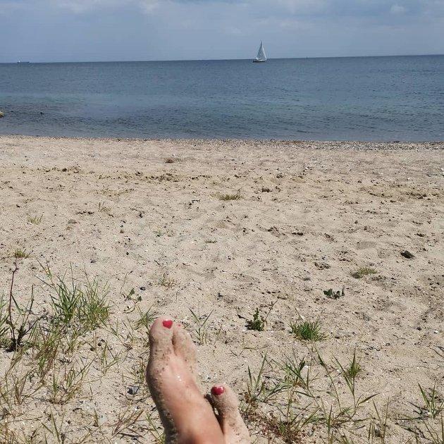 @fjelli27 Ferie ⛱️ #fredericia #østerstrand #strandliv #slaraffenliv #saverden #godeminner #sommer2019 #fjelli27