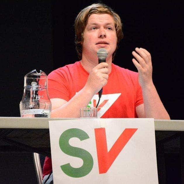 Hans Christian Andersen-Knudsen i debatt.
