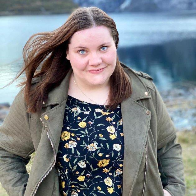 VANSKELEG JOBB: Sonja Kristine Strupstad er barne- og ungdomsarbeidar ved Lærdalsøyri barnehage. Det er ein krevjande jobb for tida.