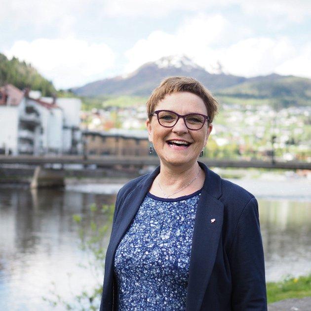 Trude Brosvik, gruppeleiar for Vestland KrF