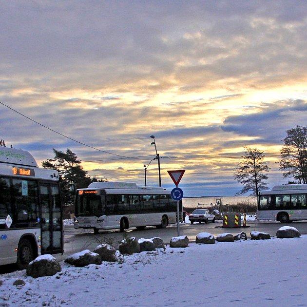TILBUD: God bussdekning på Skallevold, men ikke for alle, mener forfatteren.