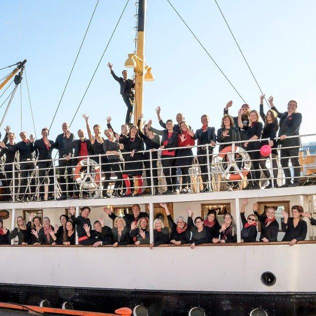 Sjøbodkoret inviterer til konsert 24.10