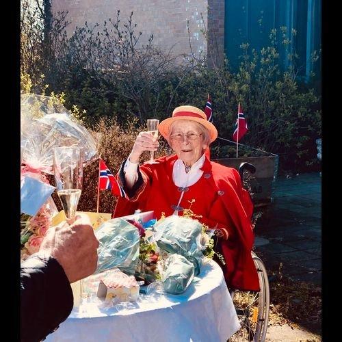 Alfhild Marie Gallis ble 100 år.
