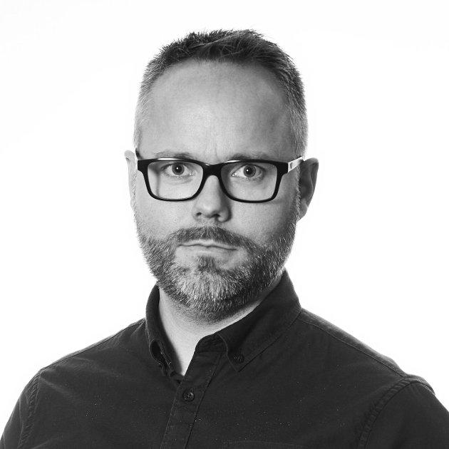 FERDIG SNAKKA: Johan Prestvik er journalist og desksjef i Trønder-Avisa.