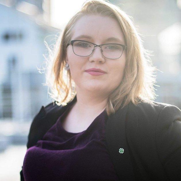 Anita Sjåvik er fylkesstyremedlem i Nordland Senterungdom.