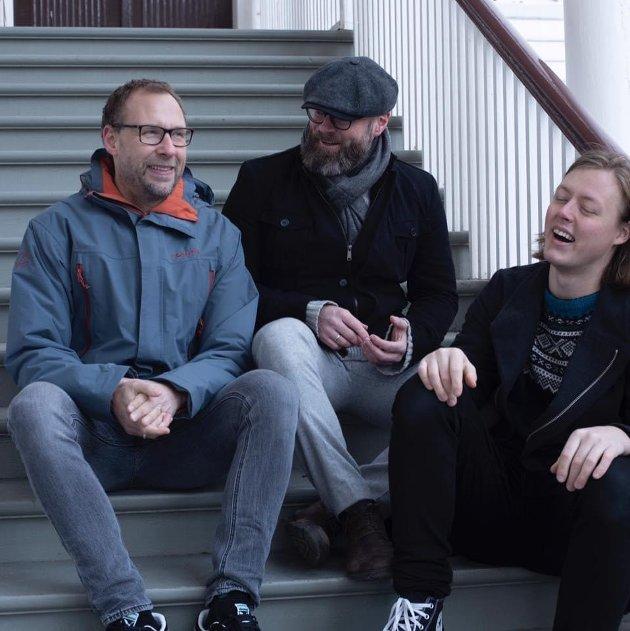 Runar Nørsett i sentrum for sin utmerkede trio.