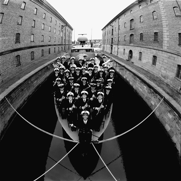 Marinemusikken *** Local Caption *** Emnent orkester: Marinemusikken fra Horten viste igjen at de er et av landets ledende musikkensembler. (Foto: Inge K. Hermansen, Marinemusikken)