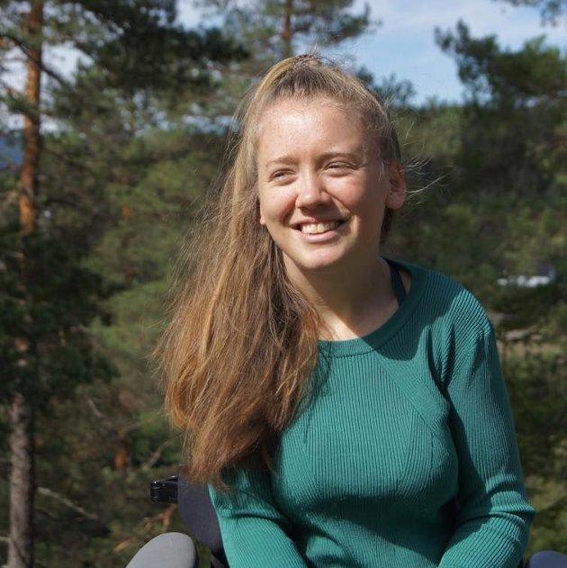 SLÅR TILBAKE: Når man bruker funksjonshemmede som et argument for å legalisere sexkjøp, er man med på å forsterke stereotypien om funksjonshemmede som uattraktive mennesker, mener Ida Hauge Dignes.