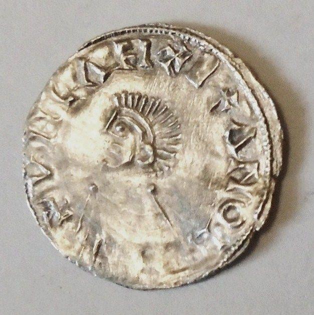 Olav den Helliges sølvmynt. Smolensk statlige museumsreservat 2020, CC BY 4.0