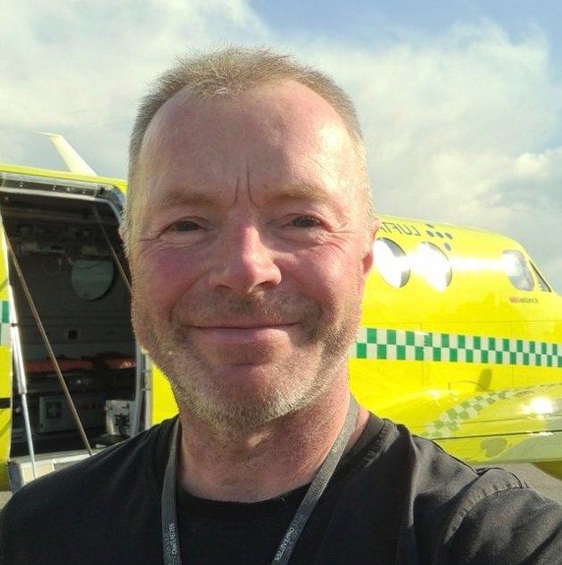 Tusen takk for måten dere jobber på, skriver Kristian Nergård til Levanger sykehus.