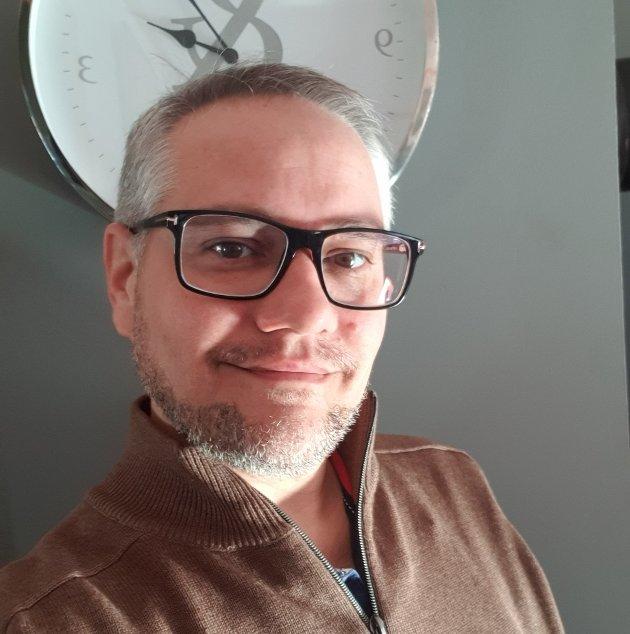 Hva har dere gjort? Utfordringen kommer fra Jan Fredrik Vogt, leder i Norsk Lektorlag Vestfold og Telemark. Foto: Privat