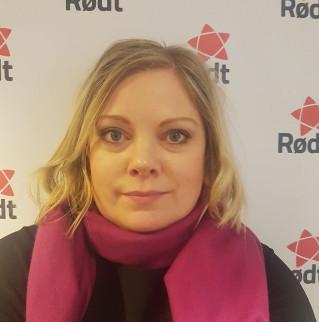 Astri Dankertsen, bystyrerepresentant for Rødt, ønsker tydeligere samisk medbestemmelse.