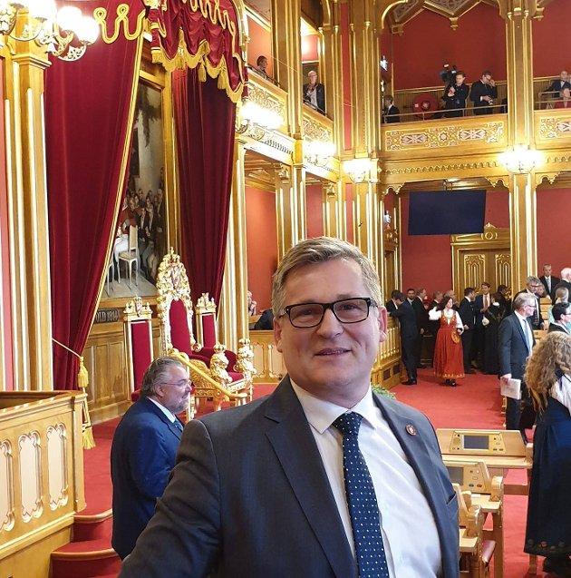 Dagfinn Olsen, 1.-kandidat Frp ved stortingsvalget, Lødingen