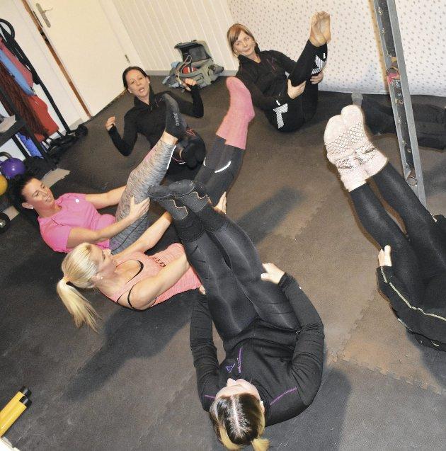 Bevegelighet: Her styrkes og strekkes det musklene.