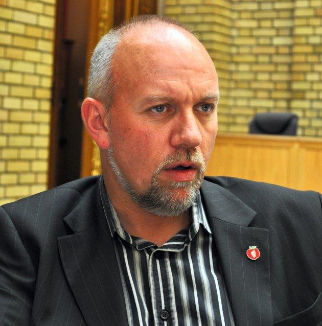 LISTETOPP: Morten Ørsal JohansenFoto: Terje Nilsen/OA