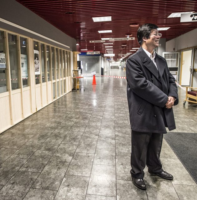 Håp om byfornyelse: Kan Cao har spennende planer for utbygging ved det tidligere sykehuset. Foto: Geir A. Carlsson