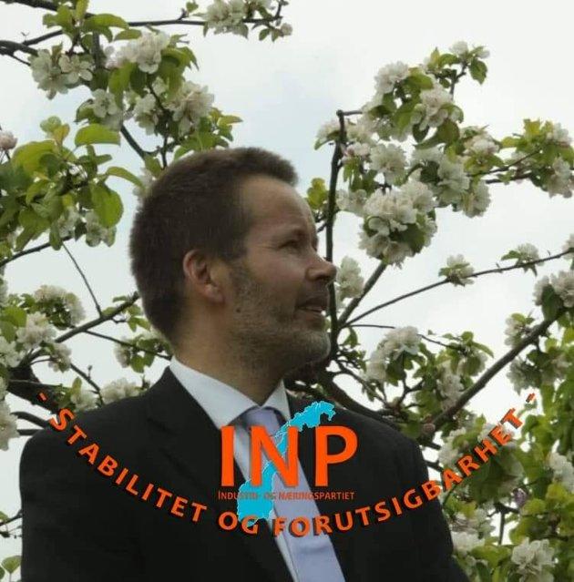 Bjarte Helland 1.nestleder INP