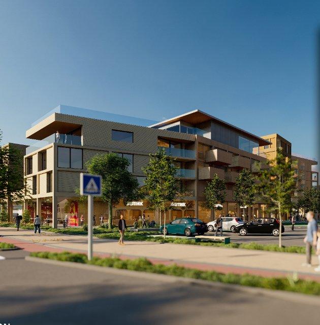 «Såpass høye bygninger vil endre Tolvsrøds sentrale område og gi et mye mer urbant preg»