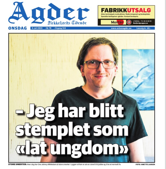 Faksimile fra Agder.