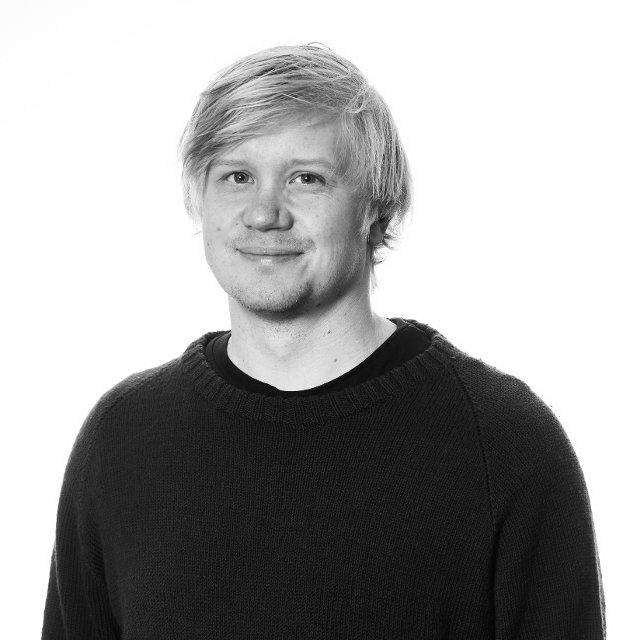 Jonas A. Holberg., frontsjef i Trønder-Avisa.