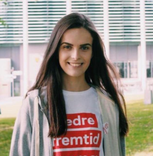 Maria Imrik er Østfold Arbeiderparti sin ungdomskandidat og står på sjette plass