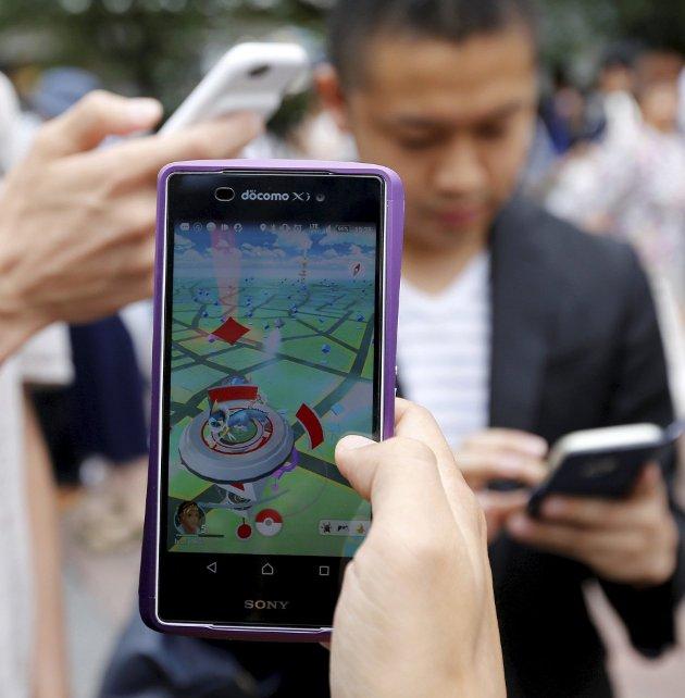 Terje Haugom raser mot smarttelefoner og Pokémon-spillere.