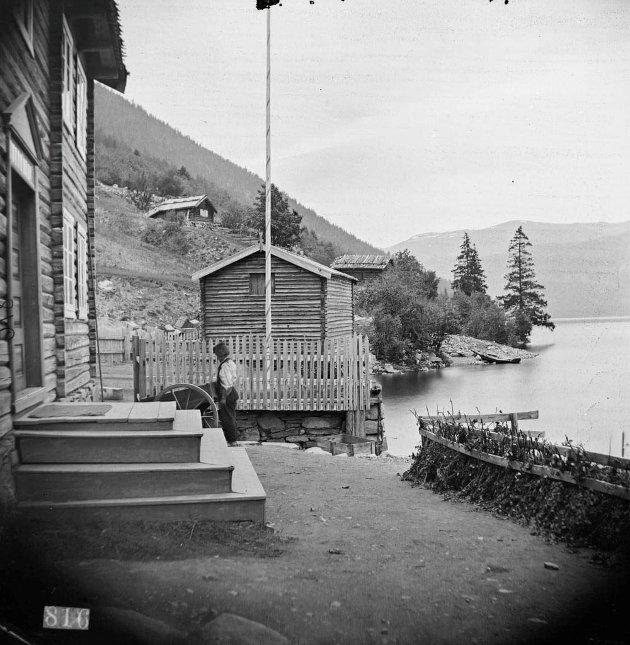 Parti fra Fagerstrand paa Tin, Telemarken