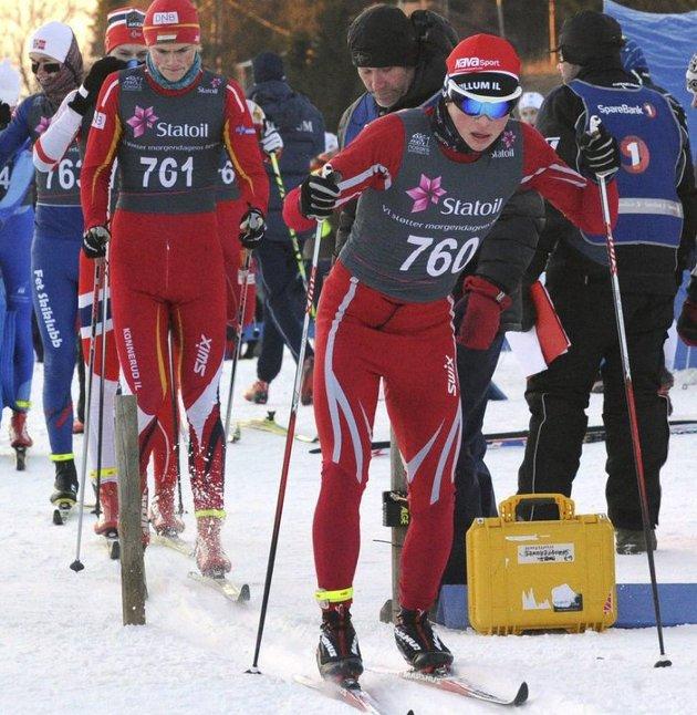 AKTIV: Ole Gjeitsund var aktiv langrennsløper, men la bort satsinga det året han skulle bli russ. Hvorfor skjedde det? undrer NAs sportsleder, som var hans trener.