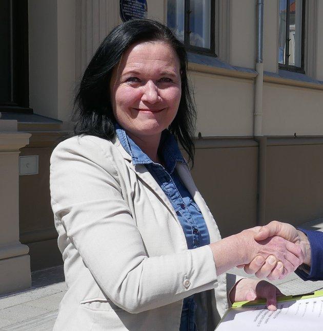 LEDER: Lajla Halvorsen i NFU Halden og Aremark lokallag