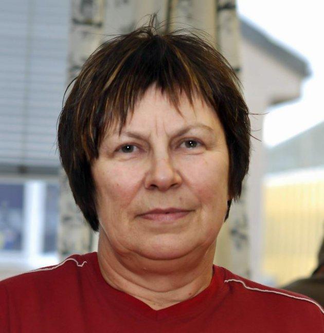 Bjørg Tapio, regionsleder Fagforbundet Finnmark
