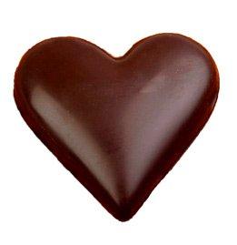 GLEDER: Sjokoladehjerter på trappa.