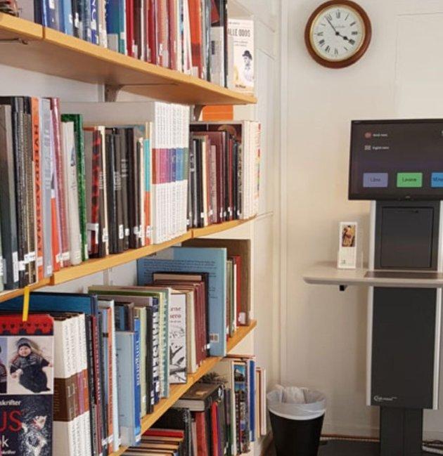 Biblioteket i Stavern